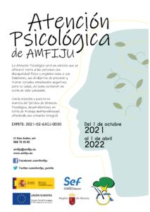 CARTEL SERVICIO ATENCION PSICOLOGICA